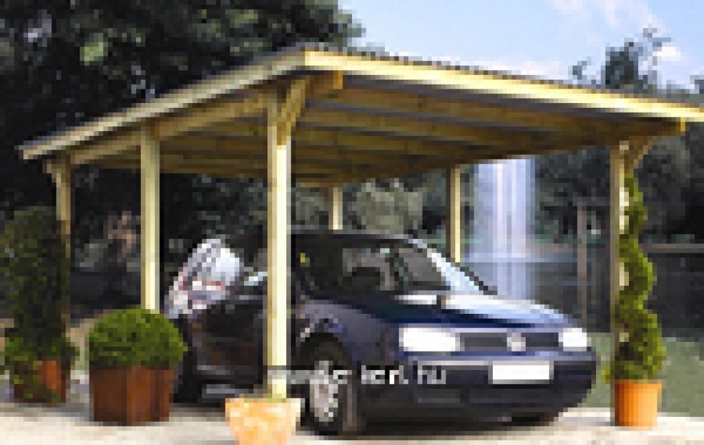 Nyitott garázsok, autóbeállók, kerti pavilonok gyártása és építése A-tól Z-ig  96000 Ft-tól -
