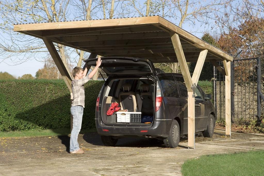 Praktikus Y-garázs autóbeálló -