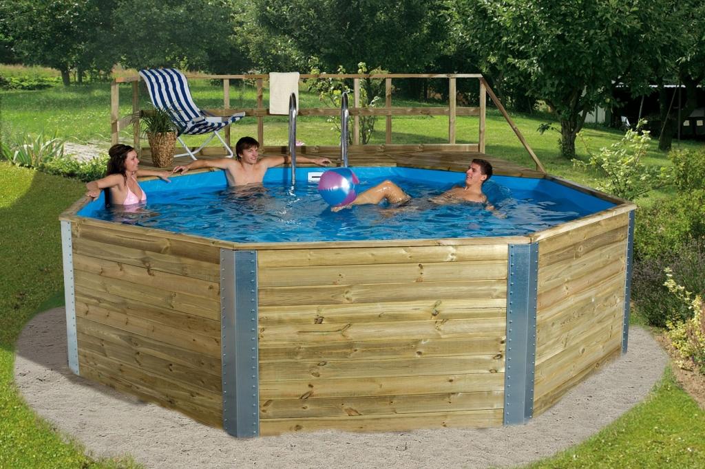 Gerendavázas kerti medencék építése  820000 Ft-tól -