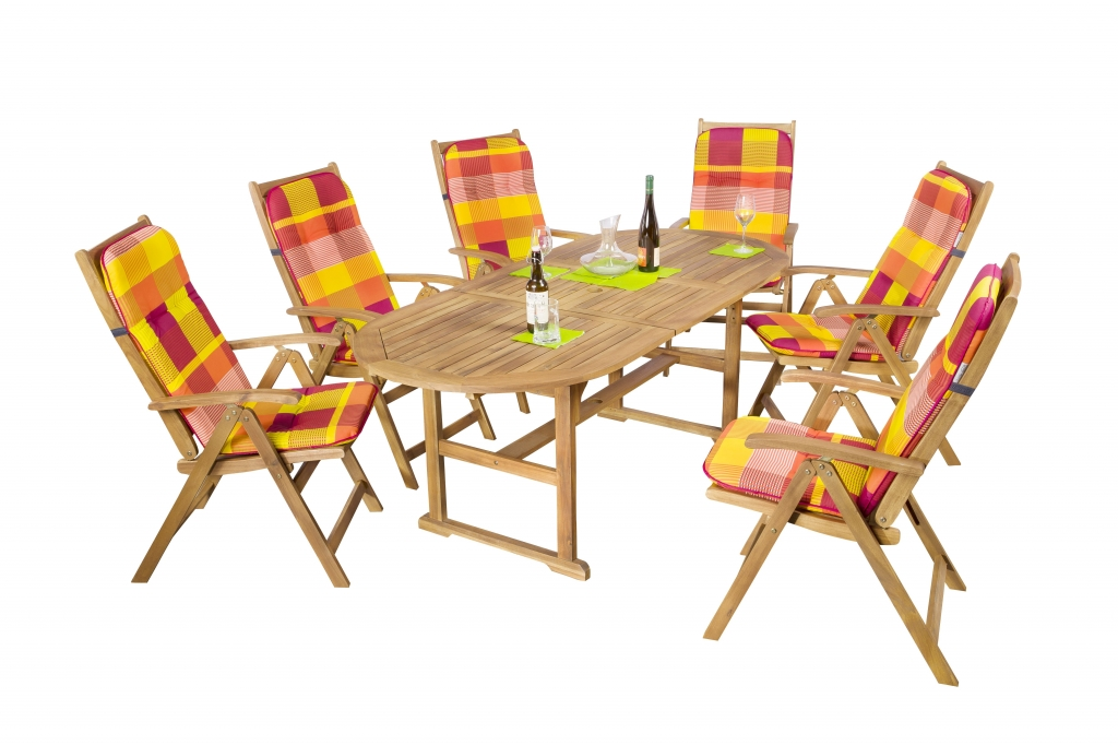 Akácia keményfa kerti bútorok -