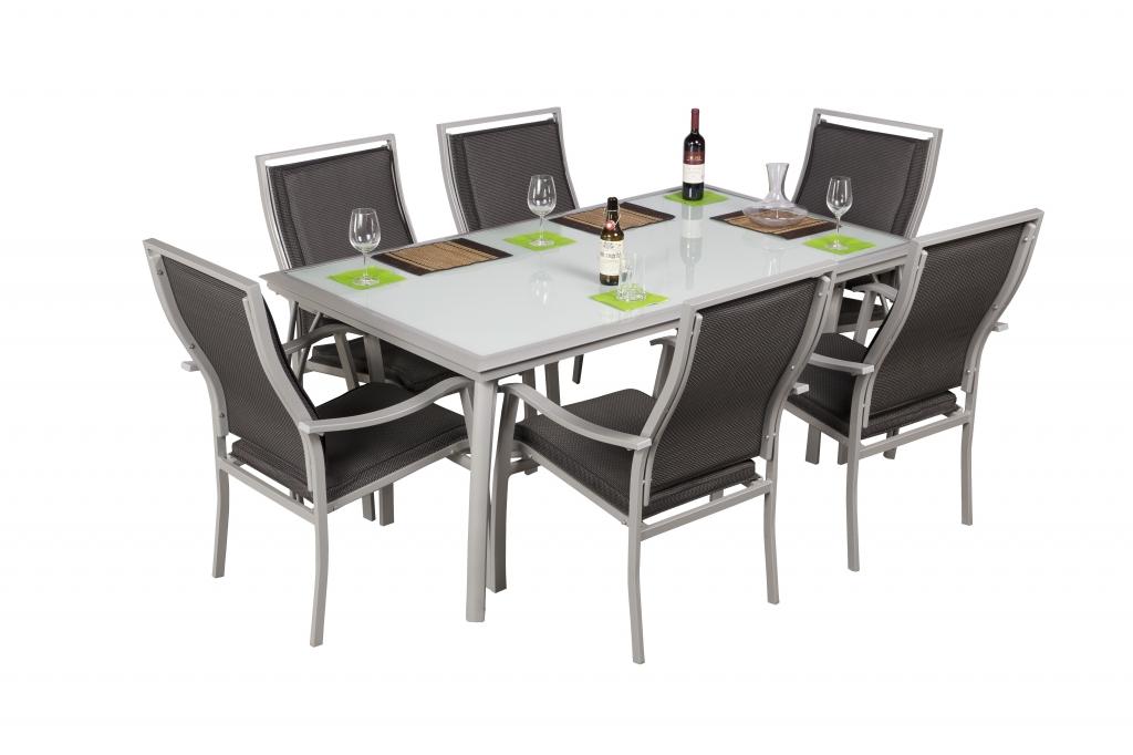 Casablanca alumínium szett 6 székkel  179000 Ft -